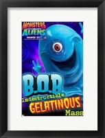 Framed Monsters vs. Aliens, c.2009 - style K