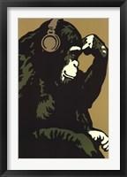 Framed Monkey Thinker