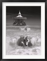 Horsing Around Framed Print