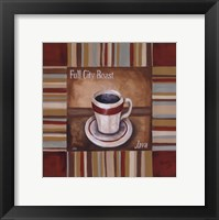Full City Roast Framed Print