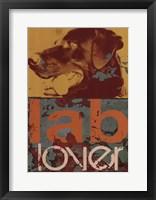 Labrador Framed Print