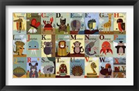 Framed Alphabet Zoo