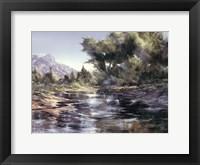 Framed Oak Creek Morning