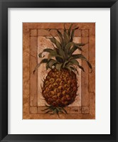 Framed Pineapple Pizzazz