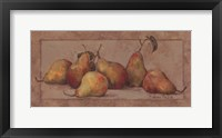 Pear Fresco Framed Print