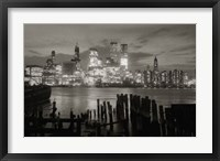 Framed Manhattan Skyline