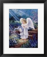 An Angel's Gift Framed Print