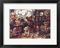 Teddy Bear Workshoppe Framed Print
