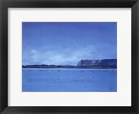 Dream In Blue Framed Print