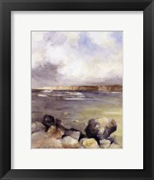 Along the Coast of Sardinia II Framed Print