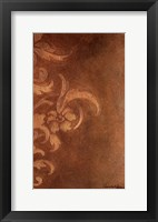 Bronze Flourish II Framed Print