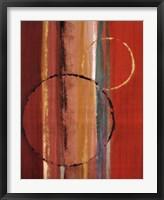 Orbiting Moons I Framed Print