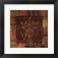Royal Pendant I Framed Print