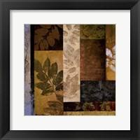 August Leaves I Framed Print