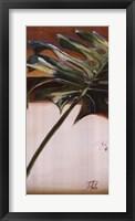The Green Leaf I Framed Print