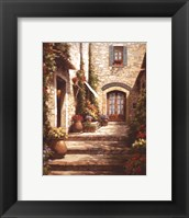 Sun in the Entryway Framed Print