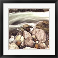Rushing Framed Print