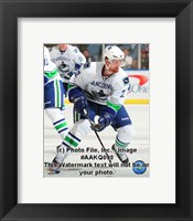 Framed Daniel Sedin 2008-09 Away Action
