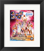 Framed 2008-09 Los Angeles Clippers Team Composite