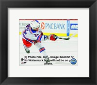Framed Chris Drury 2008-09 Away Action