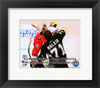 Framed Alex Ovechkin & Evgeni Malkin 2008-09 NHL All-Star Game Action