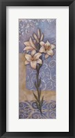 Framed Lilies I