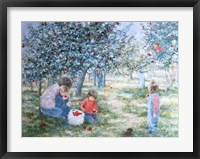 Framed Picking Apples