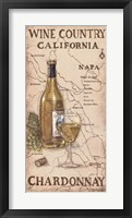 Wine Country I Framed Print