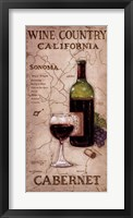 Wine Country II Framed Print