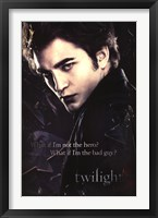 Framed Twilight - Edward, Broken Glass