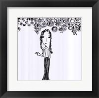 Framed Petite Mademoiselle
