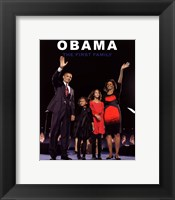 First Family Framed Print