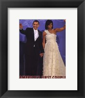 First Couple - Wave Framed Print