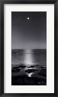 Framed Full Moon Sea