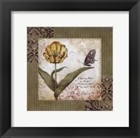 Framed Garden Inspiration I