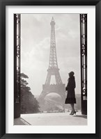 Framed Paris 1928