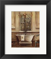 Classical Bath III Framed Print