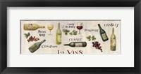 Framed Les Vins