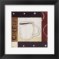 Urban Coffee III Framed Print