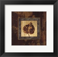 Autumn Leaf Square I Framed Print