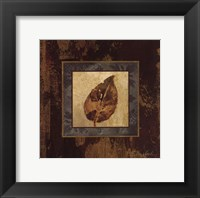 Autumn Leaf Square III Framed Print