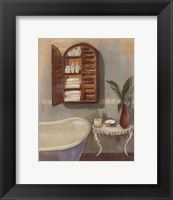 Steam Bath II Framed Print