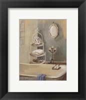 Steam Bath IV Framed Print
