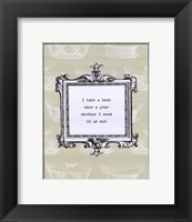 Once a Year Framed Print