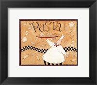 Framed Pasta Chef