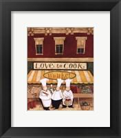 Framed Love to Cook Market
