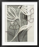 Framed Petal Silhouettes 1