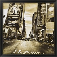 Framed Times Square