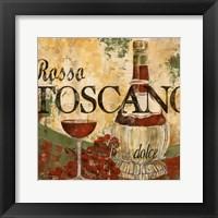 Rosso Toscano Framed Print