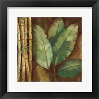 Bamboo & Palms I Framed Print